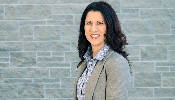 Leslie Cooke-Bithrey is the new director of human resources for the Faculty of Health Sciences. Photo by Tina Depko