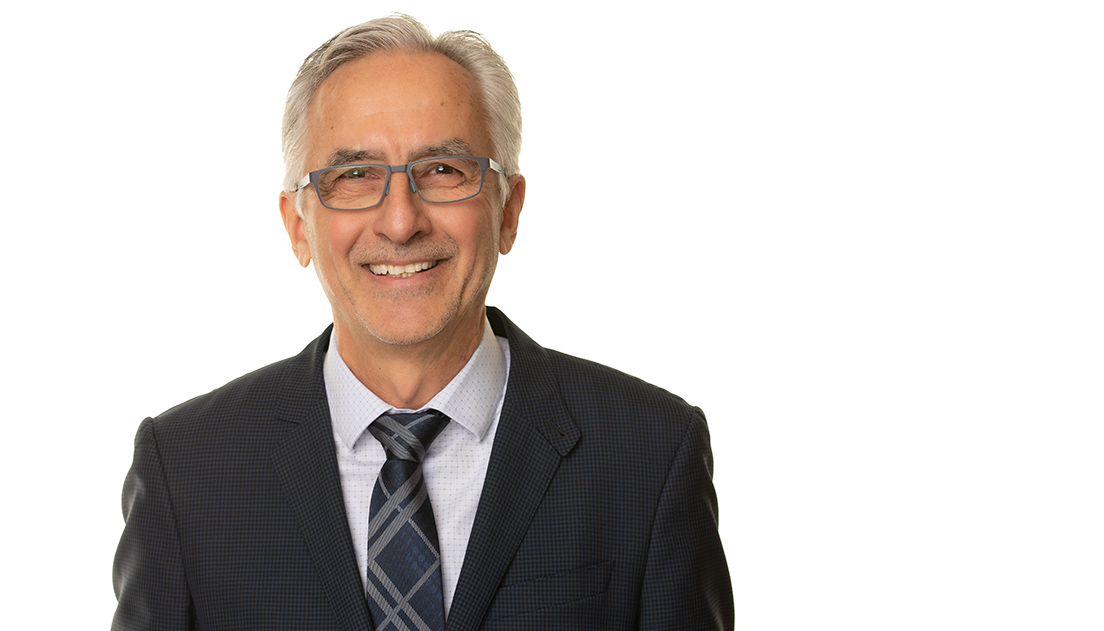 Julian Dobranowski is the new chair of the Department of Radiology.
